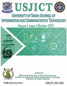 University of Sindh Journal of Information and Communication Technology